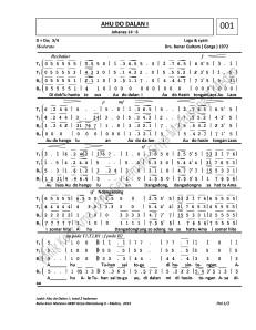 Image Result For Partitur Koor Natal Nhkbp